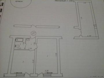 Продам 2 комн кв в бывшем семейном общежитии.